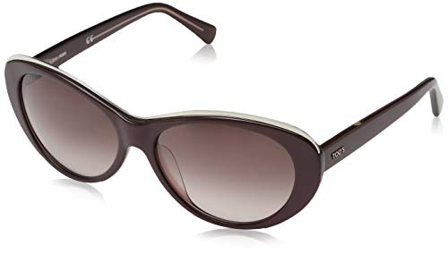 TOD'S Tod'S zonnebril TO9093 Cateye zonnebril 59, bruin