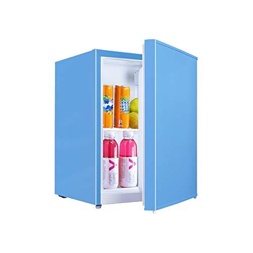 J+N Eintürige Kühlung Kühlschrank Gesamtkapazität: 55L| 2 Türrahmen Energieeinsparung: 0,34 KWh / 24 H|Geräuscharmer Bass Gefrierfach Gefrierschrank Kann Getränke, Obst, Kosmetika Lagern