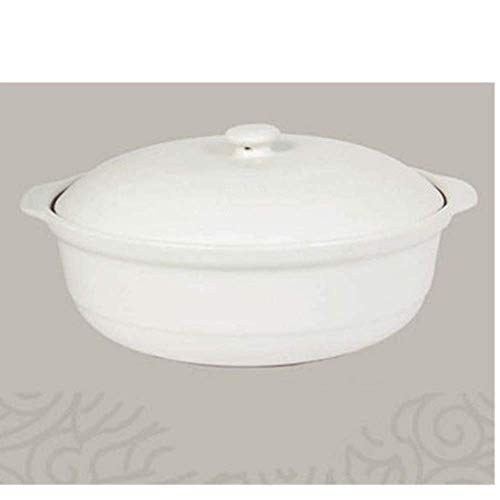 XIAO WEI Casserole Cookware Ceramic Casserole Enamelled Dutch Oven High Temperature Resistant Large Capacity Soup Pot for All Stove Best for Slow Cooking Green Environmental Protection Glaze Material