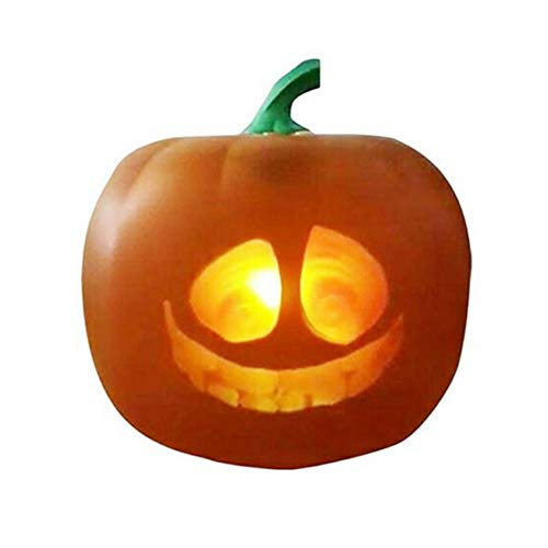 Shopps Halloween Props Gift Pumpkin Lanterns, Singing and Talking Projection Pumpkin Lanterns, Funny Traditional Funny Expressions, Holiday Celebration Decoration