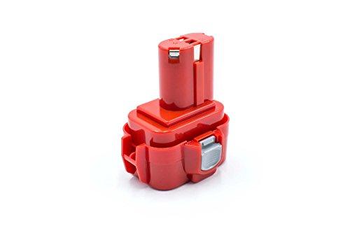 vhbw NiMH batería 1500mAh (9.6V) para herramienta eléctrica powertools tools Makita 6202D, 6202DW, 6221D, 6221DW, 6221DWE, 6400D, 6400DW