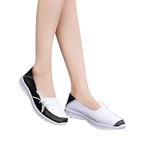Mujer Mocasines, 2019 Zapatillas De PU Barco Plataforma