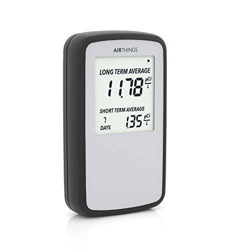 [Amazon] Airthings Corentium Home Portable Radon Detector with 30% OFF ($99)