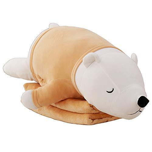 Myconvoy Schönes Kissen Lesekissen Hugging Pillow Lesekissen fürs Bett für Kinder Multifunktions DREI-in-One Plüschkissen 29.5
