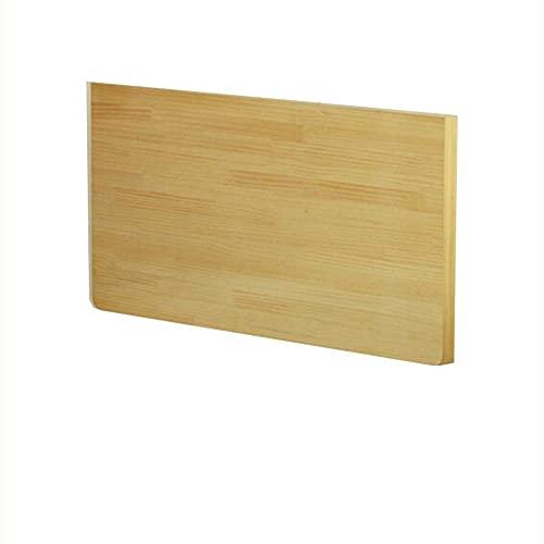 Składany stół naścienny, drewniany stół narożny, podwójny stolik boczny Biurko kuchenne na kozłach, nadaje się do nauki komputera i jadalni C (rozmiar: 90 40cm)