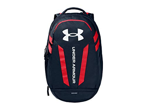 Under Armour Adult Hustle 5.0 Backpack , Academy Blue (409)/White , One Size Fits All