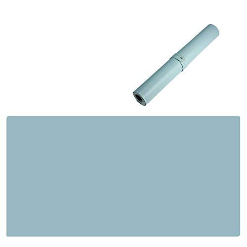 PU Cuero Estera del Escritorio Oficina,no-resbalón Mouse Pad,extendido Juego Alfombrilla Escritorio,Impermeable Alfombrilla Raton,Almohadilla Protector Azul Cielo 100x60cm(39x24inch)