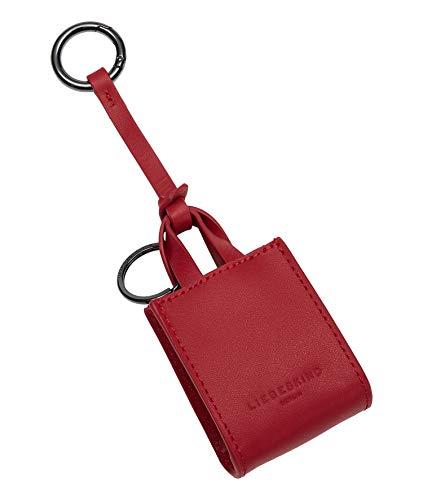 Liebeskind Berlin Paper Bag Keyring, Portachiavi Donna, Red Pepper-3640, X-Small