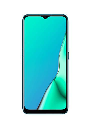 OPPO A9 2020 Smartphone débloqué 4G - Batterie 5000 mAh - 48 MP - Haut-parleurs stéréo - USB-C et Prise Jack 3.5mm - 128 Go ROM Extensible Via Micro SD - Android 9 - Téléphone Portable Bleu Cobalt