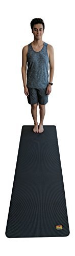 "Pogamat Large Yoga Mat and Stretching Mat - 7ft X 27"" x 7mm Thick Anti-Tear Non Slip Exercise Yoga Mats Extra Long 7 ft Memory Foam Yoga Mats for Yoga and Cardio Fitness Mat Without Shoes"