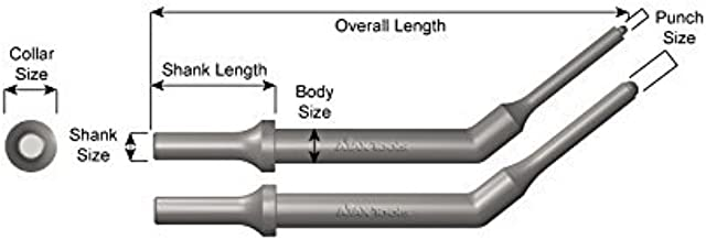 product image for Ajax Tools 1110 .401 Turn Type Shank; Hinge Pin Driver Set