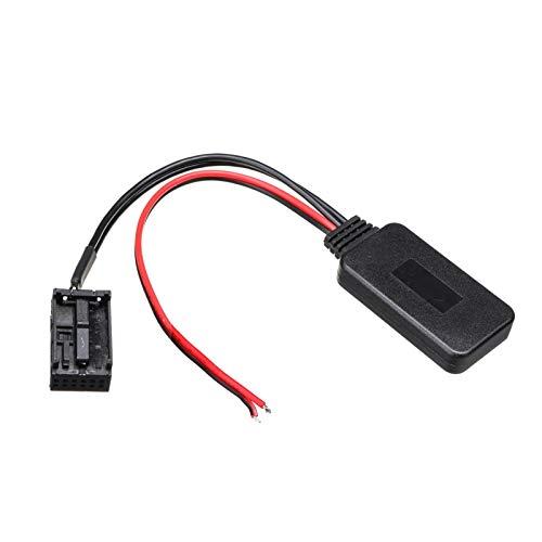 ZHANGHONGWEI Bluetooth AUX Receptor Adaptador de Cables Ajuste para Ford FIT FOR Focus MK2 MK3 FIT para Fiesta Audio AUX AUX Unidad de Interfaz