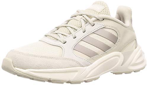 adidas Performance 90s Valasion - Zapatillas Deportivas para Mujer, Color Beige/Blanco, Talla 5,5 UK - 38 2/3 EU - 7 US