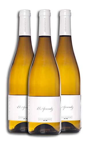 Vino Blanco - Leyenda del Páramo - El Aprendiz - Vino Premiado - Caja de 3 botellas de 75 cl. - Envio en caja protectora de alta resistencia para un transporte 100% seguro