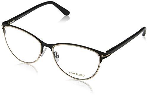 Tom Ford Women's Cateye Eyeglasses TF 5420 005 Black FT5420 54mm