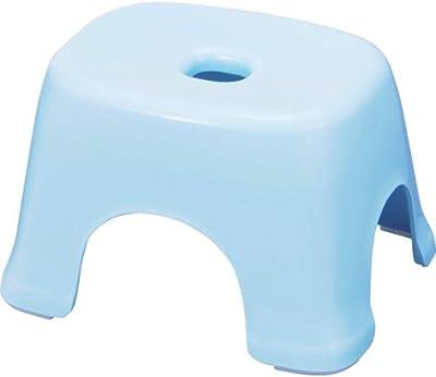 トンボ 風呂イス 日本製 幅31.5×奥行25×高さ20cm 抗菌 ブルー フロート 新輝合成 N20
