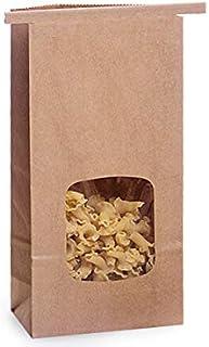 "Sponsored Ad - 1/2 lb Kraft Window Coffee Bags 3-3/8""x2-1/2""x7-3/4"" - (1,000 Bags)"