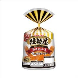 丸大食品『燻製屋 熟成あらびきポークウインナー』