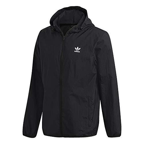 Adidas Essential Trefoil Windbreaker Jacke (M, Black)
