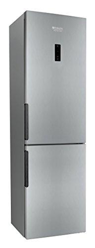 Hotpoint LH8FF2OA Autonome 305L A++ Métallique réfrigérateur-congélateur - réfrigérateurs-congélateurs (Autonome, Métallique, Droite, Verre, 305 L, 330 L)