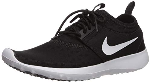 Nike Women's Juvenate Sneaker, Black/White, 12 B US
