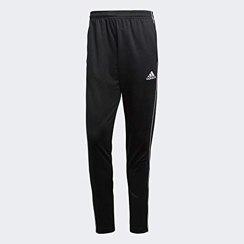adidas Herren CORE18 TR PNT Sport Trousers, Black/White, XS