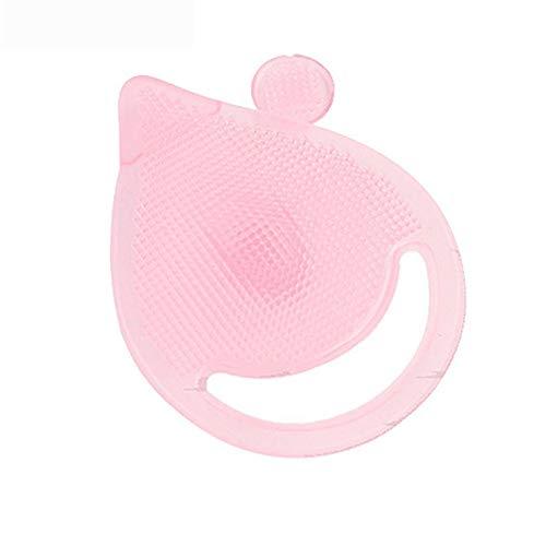 top Poignée en bois/plastique Douce visage Fibre douce Visage Nettoyer Brosse à laver Soins du nettoyage en profondeur Brosse Scrub Traitement Outil