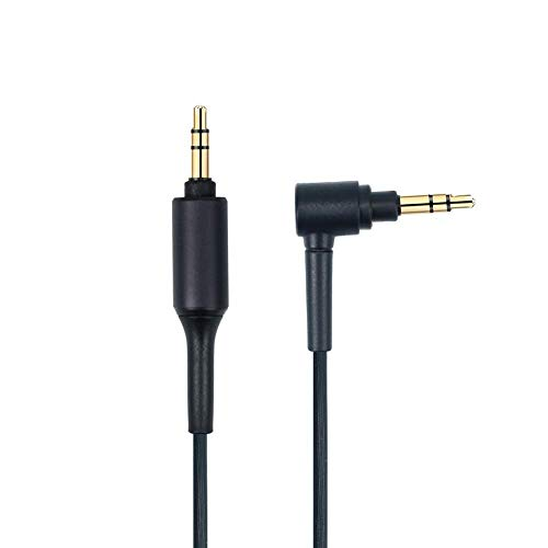Replacement WH-1000XMA Aux Headphone Audio Cable Cord Compatible Sony MDR-XB950BT MDR-1000X WH-1000XM2 WH-1000xm3 WH-CH700N MDR-100ABN MDR-1A MDR-1ADAC MDR-XB950N1 Wireless Headphones (Black)