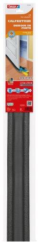Tesa 05418-00002 Zugluftstopper, PVC BP-Schaum, 0,95 m x 25 mm, für Räume bis 22 mm