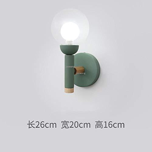 Wandlamp interieur Moderne LED-lampen glazen bol wandlamp wooncultuur bedlampje gangverlichting creatieve wand + lampen keuken lichten