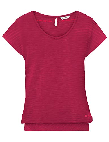 VAUDE Damen T-shirt Skomer II, crimson red, 40, 403859770400