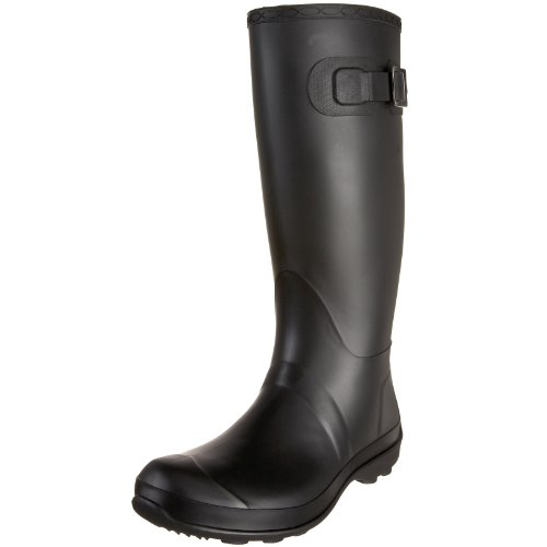 Kamik Women's Olivia Rain Boot,Black,8 M US