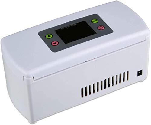 XUHRA Mini Insulin Auto-Kühlraum, Halbleiter Medizin Fridges Energiespar Silent-Noise Reduction Tieftemperaturkälte