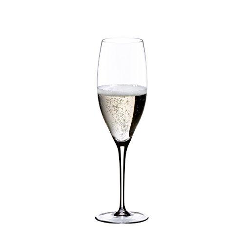 RIEDEL Champagnerglas, Für Jahrgangschampagner und Rosé Champagner, 330 ml, Kristallglas, Sommeliers, 4400/28