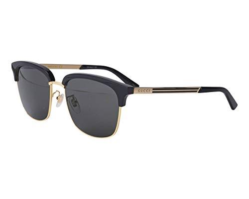 Gucci GG0697S BLACK/GREY 55/18/145 Herren Sonnenbrillen