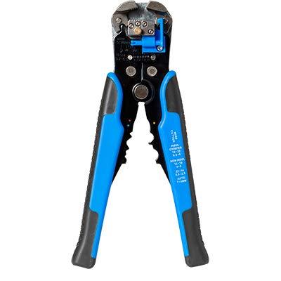 HS-D1 krimper kabel snijder automatische draad stripper multifunctionele stripgereedschap krimpen tang terminal gereedschap as picture D2 Blue