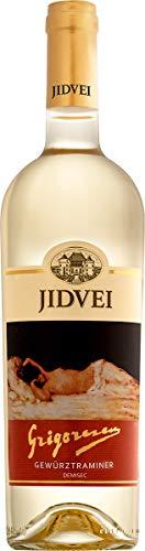 Jidvei | GRIGORESCU Gewürztraminer - Vin Alb demisec | Weißwein halbtrocken aus Rumänien | Weinpaket 6 x 0,75 L D.O.C. + 1 Kugelschreiber Amigo Spirits gratis