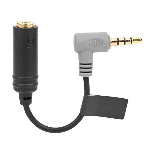Bigking Cavo Adattatore Audio, COMICA CVM-SPX TPE per TRS Cavo Adattatore Audio da 3,5 mm a TRRS per iOS/Hua_Wei/Sam_Sung Smartphone Tablet PC