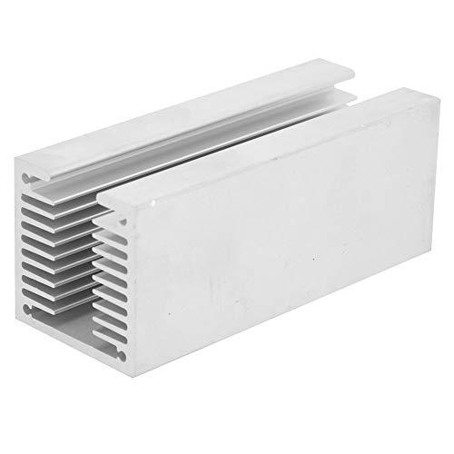 SANON Aluminium Heatsink, U Type TO-3P Warmtespoelbak, Dichte Tandwarmtekoeler Fin Koeling Radiator 100 x 40 x 40mm