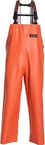 Grundéns Men's Herkules 16 Fishing Bib Pant, Orange - Medium