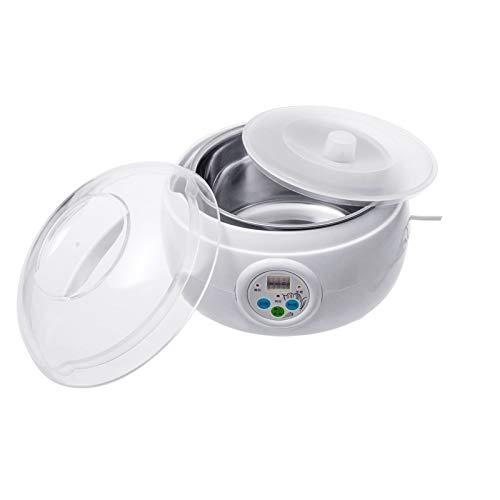 WGGTX Máquina de Yogur 1.5L 220V 15W eléctrico Blanco automático Yogur Fabricante de Vino de arroz de Natto Cocina envase de Yogur Fabricante de aparatos de Cocina Casa, Cocina