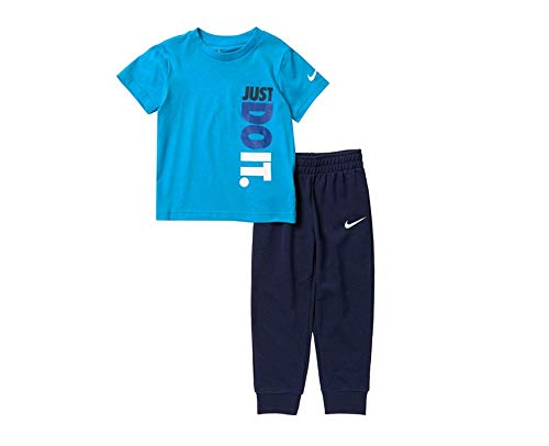 Nike Short Sleeve T-Shirt Jogger 2-Piece Set (Toddler) 4T