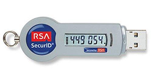 RSA SecurID Authenticator SID800 Key Fob (Pack of 25)