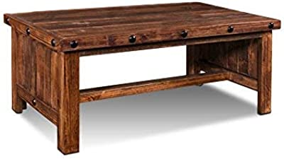 Amazon Com P N Homewares Corona Coffee Table Rustic Mexican Pine