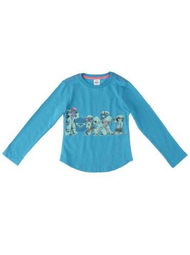Roxy Beloved Board t-Shirt à Manches Longues pour Enfant Bleu Turquoise 86/2 Jahre