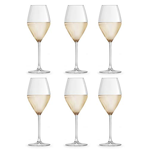Copa de Vino Iduna de Libbey - 34 cl / 340 ml - Set de 6 Unidades - Diseño Elegante - Apta Para el Lavavajillas