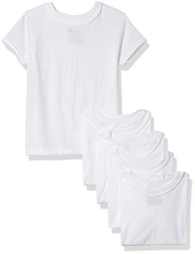 Hanes Boys' T-Shirt, White, Large