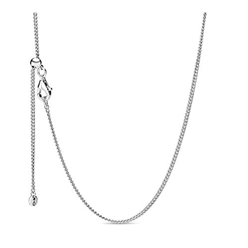 Pandora Damen-Kette ohne Anhänger 925_Sterling_Silber 398283-60