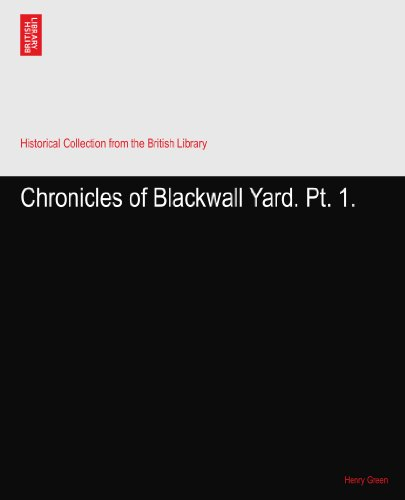 Chronicles of Blackwall Yard. Pt. 1.