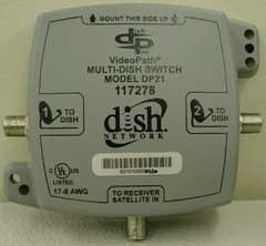 Dish Pro Dish Network SW-21 Switch